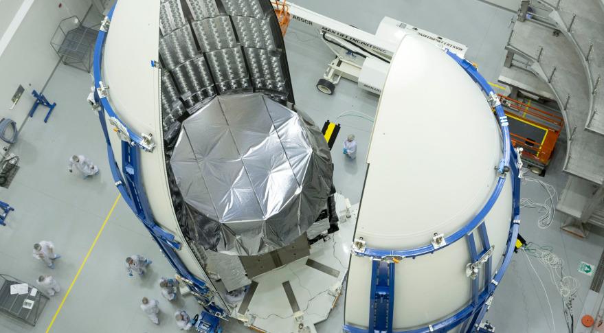 MUOS-2. Credit: Lockheed Martin