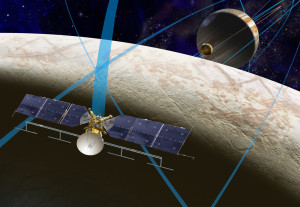 Europa Clipper. Credit: NASA/JPL-Caltech