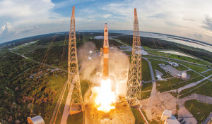 The Geosynchronous Space Situational Awareness Program (GSSAP) launch. Credit: ULA
