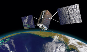 GPS 3 satellite. Credit: Lockheed Martin