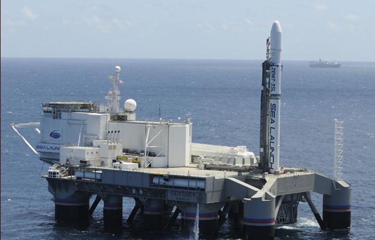 The Sea Launch Odyssey launch platform. Credit: Sea Launch