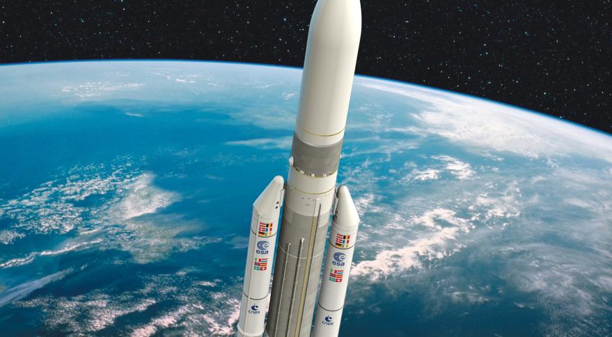 Ariane 5 ME. Credit: ESA/D. Ducros