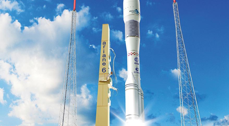 Ariane 6 artist's concept. Credit: CNES
