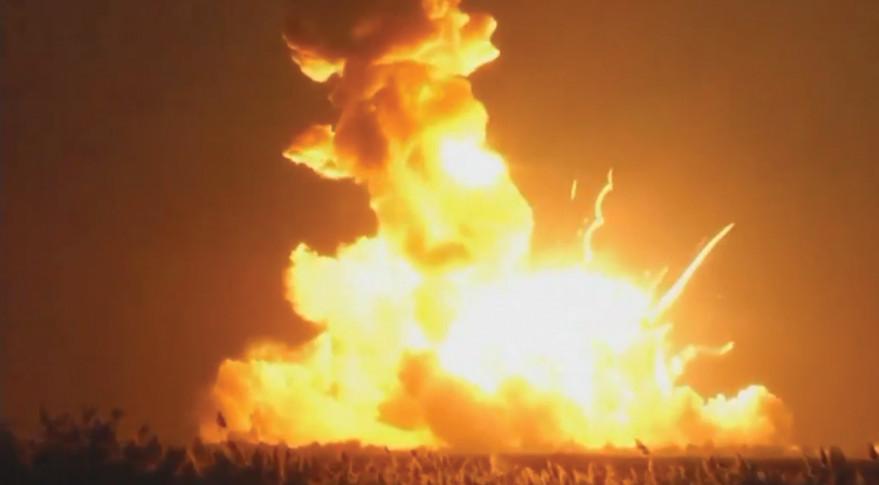 Antares fails October 2014