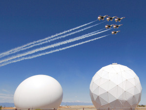 The Air Force Satellite Control Network, centered at Schriever Air Force Base in Colorado, is widely viewed as antiquated and badly in need of modernization. Credit: U.S. Air Force/Amber Whittington