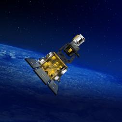 SBSS satellite artist's concept. Credit: Boeing