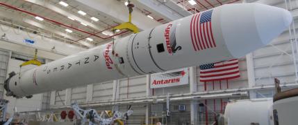 Antares rocket. Credit: Orbital Sciences