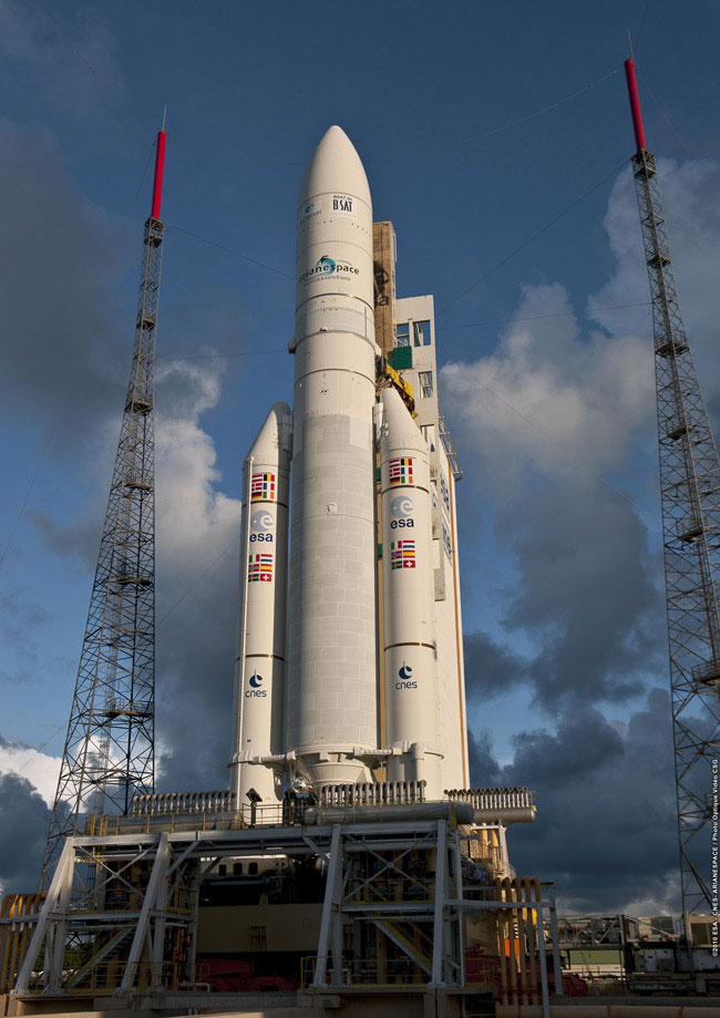Isro Taps Arianespace For Two Launches Next Year