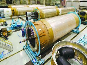 Atlas 5 rocket cores
