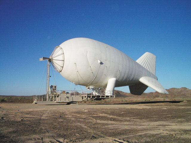 Lockheed Martin's surveillance blimp