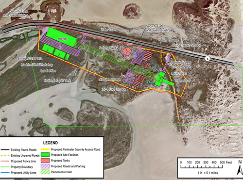 brownsvillelaunchsiteproposed faa4x3 jpg construction of a spacex launch site
