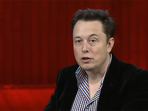 "However, in a question-and-answer session Jan. 5 on the website Reddit.com, Musk backed away from his 50-percent prediction. ""I pretty much made that up,"" he said. ""I have no idea."" Credit: MIT Aero Astro Symposium"