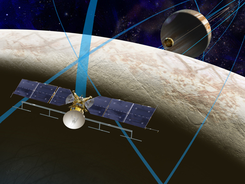 Europa Clipper mission. Credit: NASA