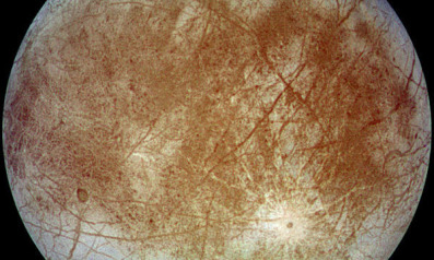 Europa. Credit: NASA