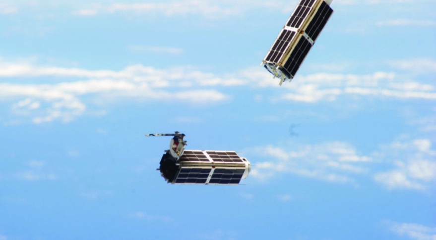Planet Labs flock release