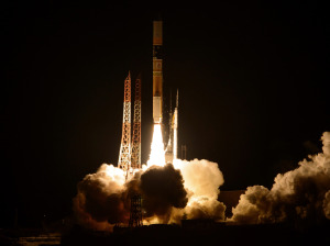 Mitsubishi's H-2A rocket launched the Global Precipitation Measurement Core Observatory for NASA and JAXA on Feb. 27, 2015.