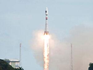 Galileo FOC satellite launch. Credit: ESA
