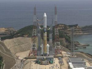 A Mitsubishi Heavy Industries H-2A rocket. Credit: JAXA