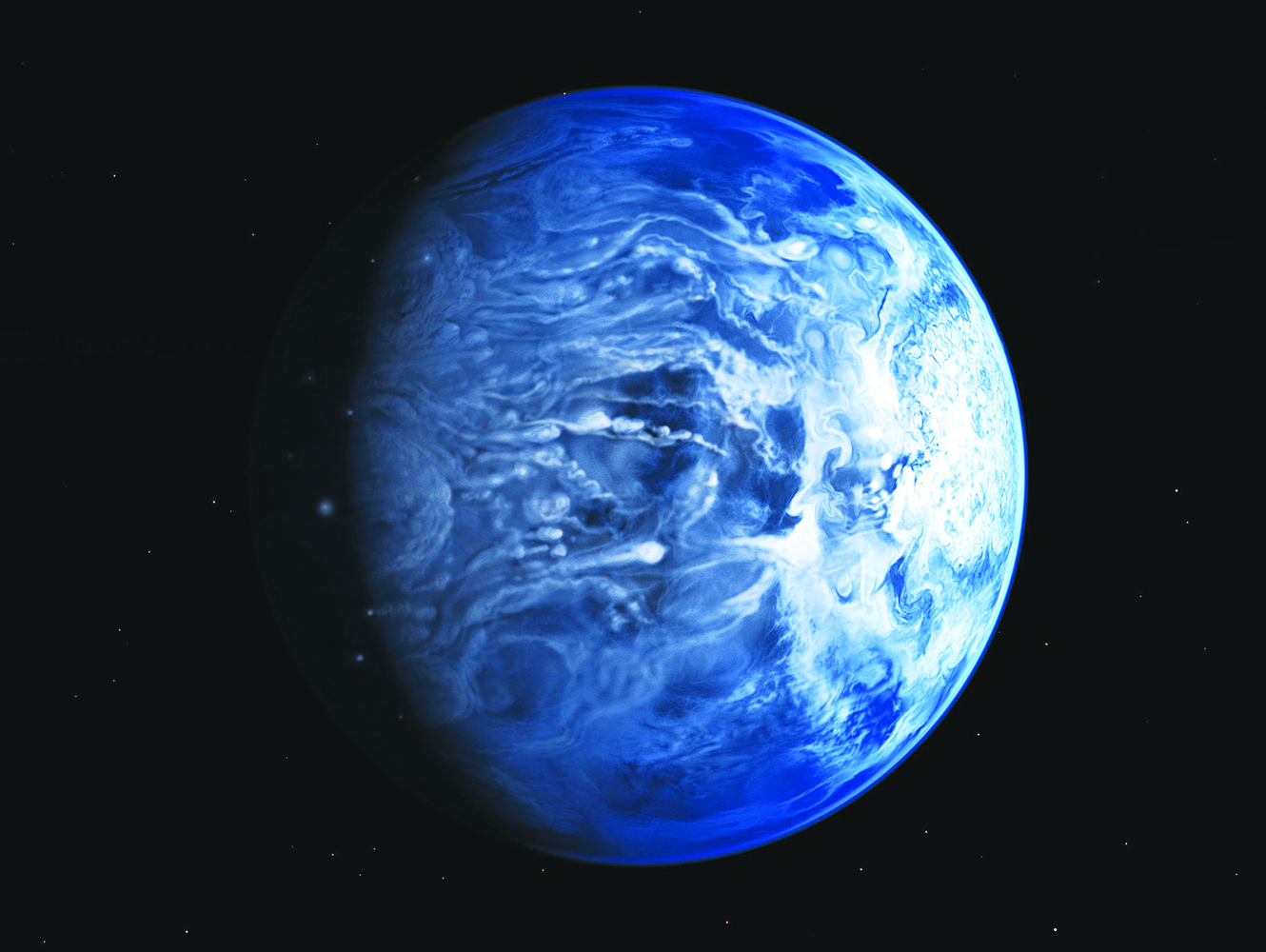 For First Time, Alien Planet's True Color Revealed: 'Deep ...