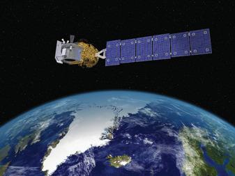 Ice, Cloud,and land Elevation Satellite-2. Credit: Orbital Sciences