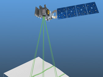 "ICESat-2's Advanced Topographic Laser Altimeter System's ""performance began to degrade in January 2013, one month after its plan was baselined at confirmation,"" the GAO wrote in its annual assessment of large-scale NASA projects. Credit: NASA"