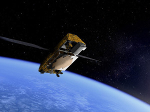 Artist's concept of Iridium Next satellite. Credit: Iridium
