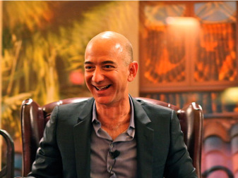 Jeff Bezos. Credit: Steve Jurvezton