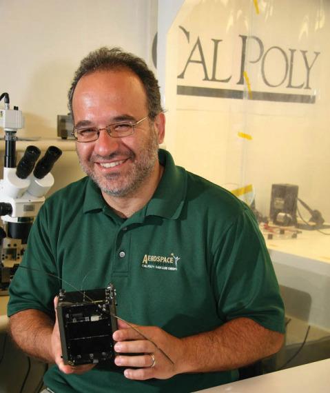 Jordi Puig-Suari, co-founder of Tyvak Nano-Satellite Systems LLC. Credit: Cal Poly