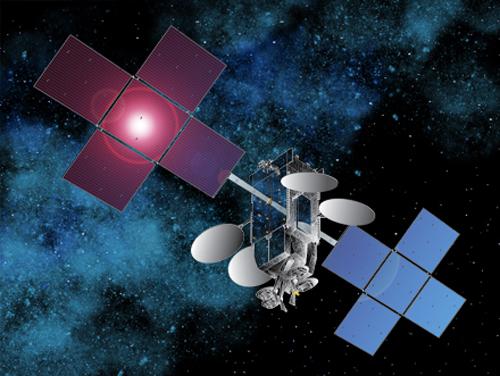 Jupiter/EchoStar 17. Credit: SSL