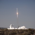 Feb. 11, 2013, launch of the Landsat Data Continuity Mission on a ULA Atlas 5 at California's Vandenberg Air Force Base. Credit: NASA