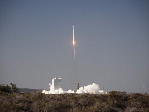 Feb. 11, 2013, launch of the Landsat Data Continuity Mission on a ULA Atlas 5 at California's Vandenberg Air Force Base. Credit: NASA