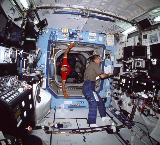 how big inside spacecraft - photo #14