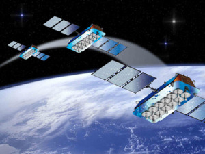 A Europeanized Russian Soyuz rocket placed four O3b Networks high-throughput Ka- broadband satellites into O3b's unique 8,000-kilometer-altitude orbit, giving O3b a bigger margin for error as it manages its constellation, now comprising 12 satellites.