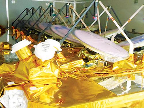 O3b's first four satellites