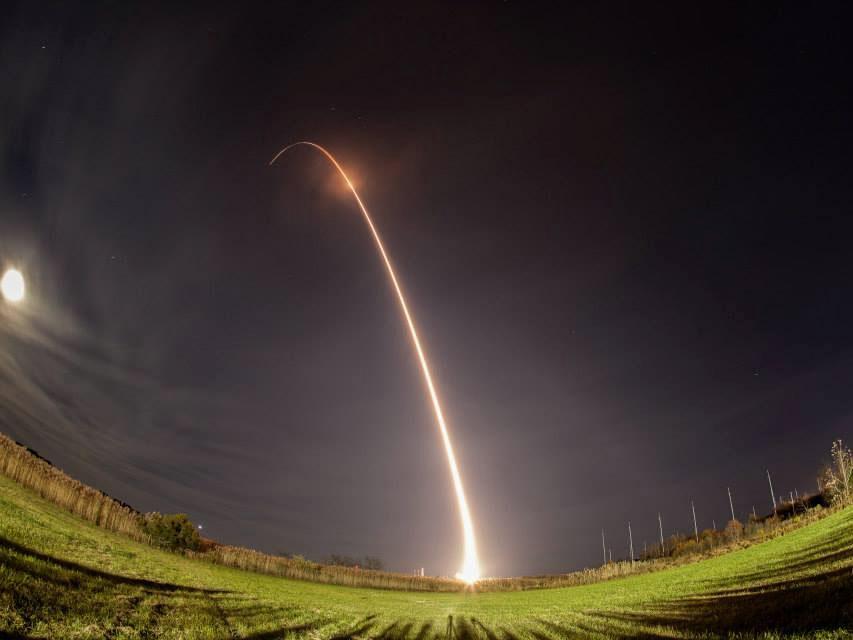 Minotaur Rocket Lofts 29 Satellites from Virginia ...