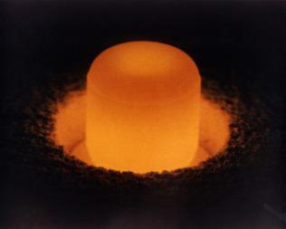 Plutonium-238 pellet