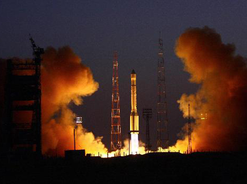 RSCC Chief Financial Officer Dennis Pivnyuk said the new procedure will not necessarily move RSCC away from Russia's principal commercial launcher, the heavy-lift Proton vehicle. Credit: International Launch Services