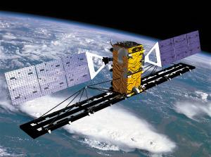 Radarsat 2. Credit: Canadian Space Agency artist's concept