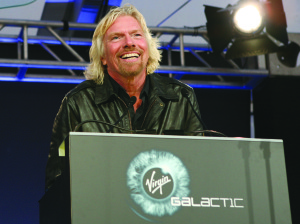Virgin Galactic Founder Richard Branson. Credit: Virgin Galactic
