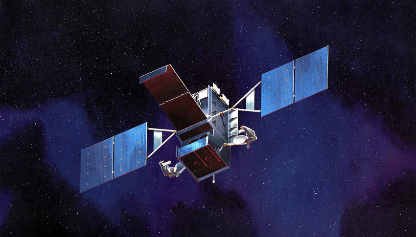 Space Based Infrared System (SBIRS) satellite. Credit: Lockheed Martin ...