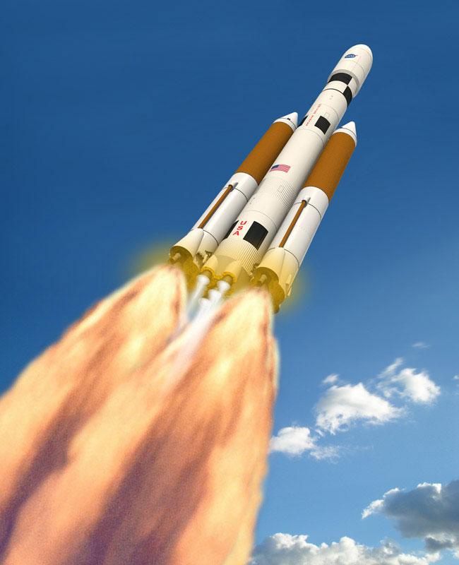 Pratt & Whitney Rocketdyne, Dynetics Propose SLS Boosters ...