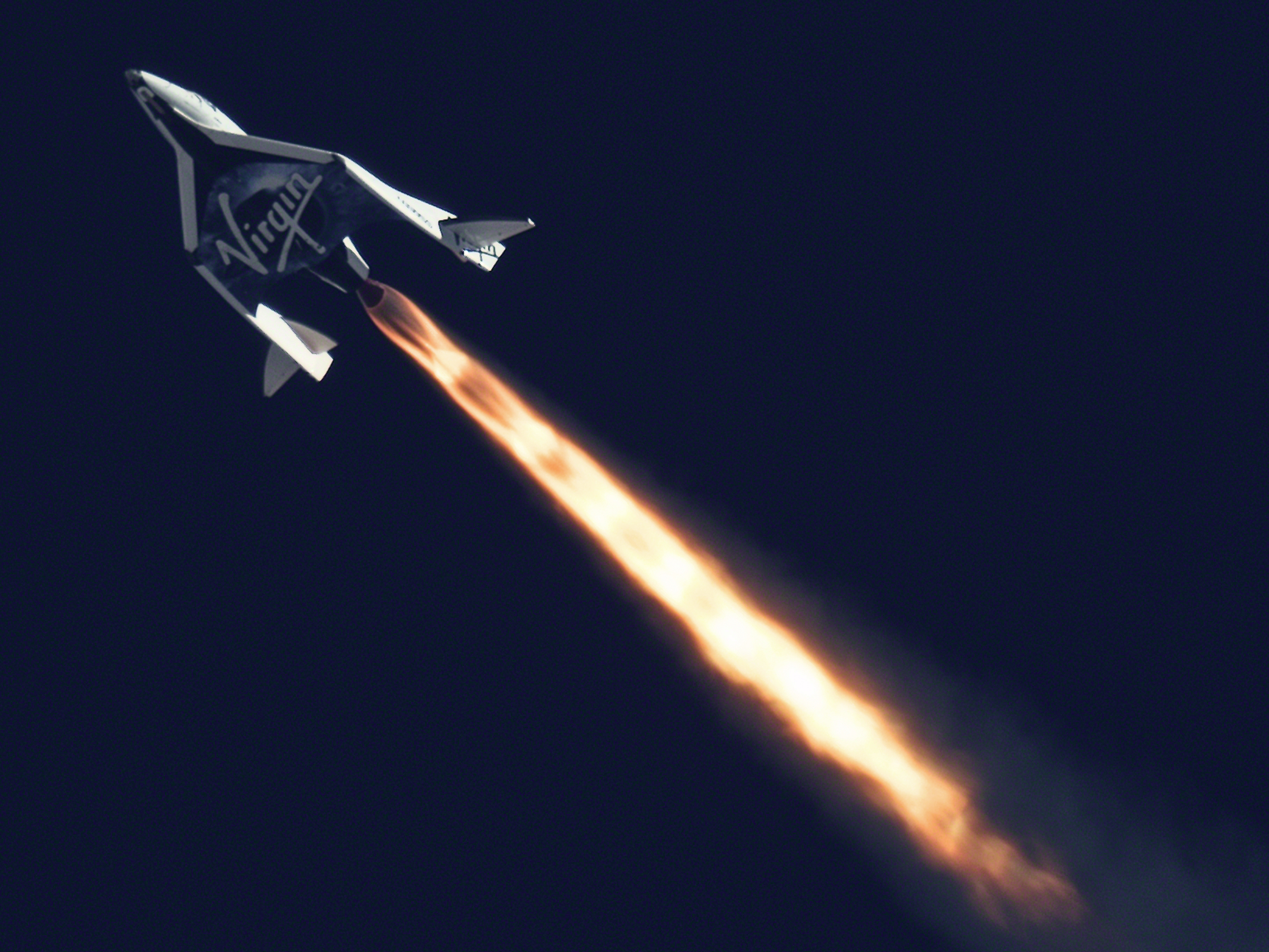 Virgin Galactic Stages Second Powered Flight of SpaceShipTwo