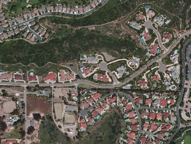 A DigitalGlobe 30-centimeter natural color image of San Diego. Credit: DigitalGlobe