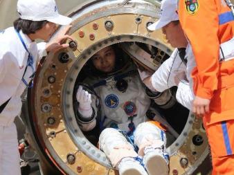 Shenzhou 10 capsule landing