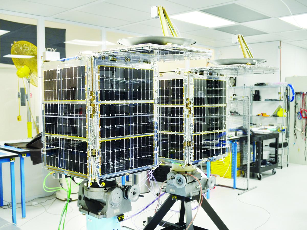 SkySat-1 and SkySat-2