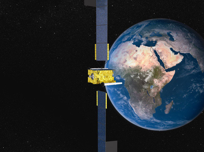 Skynet 5 satellite Airbus