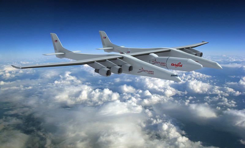 ATK To Supply Stratolaunch Rocket Stages - SpaceNews com
