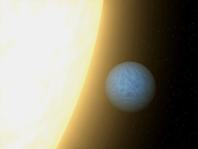 Image result for Light from Alien Super-Earth Seen for 1st Time