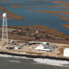 The Mid-Atlantic Regional Spaceport at Wallops Island, Virginia.