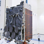 The fourth WGS spacecraft. Credit: Boeing